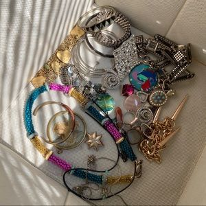 Assorted jewelry bundle necklaces pendants etc